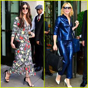 'Ocean's Eight' Cast Steps Out in Style After NYC Press Junket