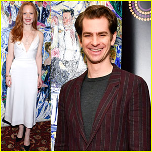 Andrew Garfield, Lauren Ambrose, & More Broadway Stars Accept Their Outer Critics Circle Theatre Awards!
