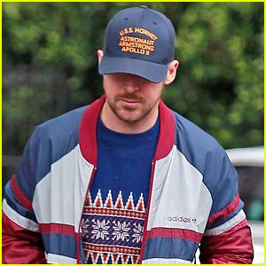 Ryan Gosling Rocks Apollo 11 Hat in Los Angeles!
