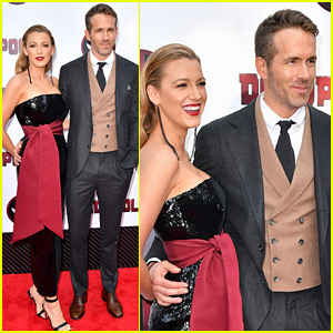 Blake Lively Supports Ryan Reynolds at 'Deadpool 2' Premiere!
