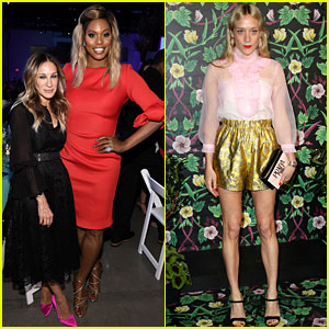 Sarah Jessica Parker & Laverne Cox Lend Support to Planned Parenthood at Spring Into Action Gala