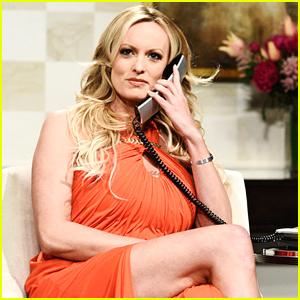 Stormy Daniels Makes Surprise Cameo on 'SNL' to Mock Trump - Watch!