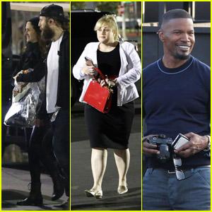 Julia Roberts, Rebel Wilson, Jamie Foxx & More Stars Attend Taylor Swift's 'Reputation Tour'!