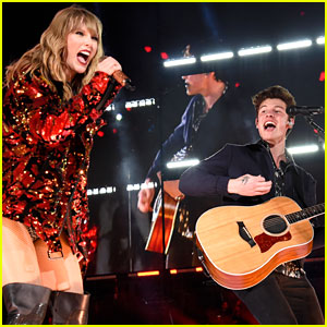 Taylor Swift Sings with Special Guest Shawn Mendes at Pasadena Tour Stop! (Video)