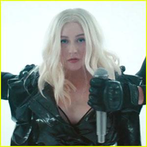 Christina Aguilera   Demi Lovato Release Music Video for  Fall In Line  -  Watch Now! f91ce8fbc82