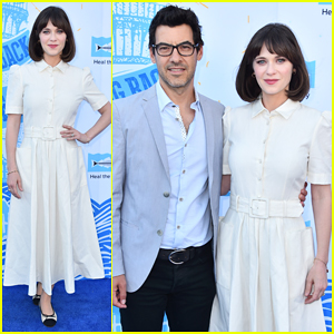Zooey Deschanel & Jacob Pechenik Get Honored at Heal The Bay's Bring Back The Beach Awards Gala!