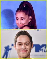 Here's How Ariana Grande & Pete Davidson Celebrated Their Engagement