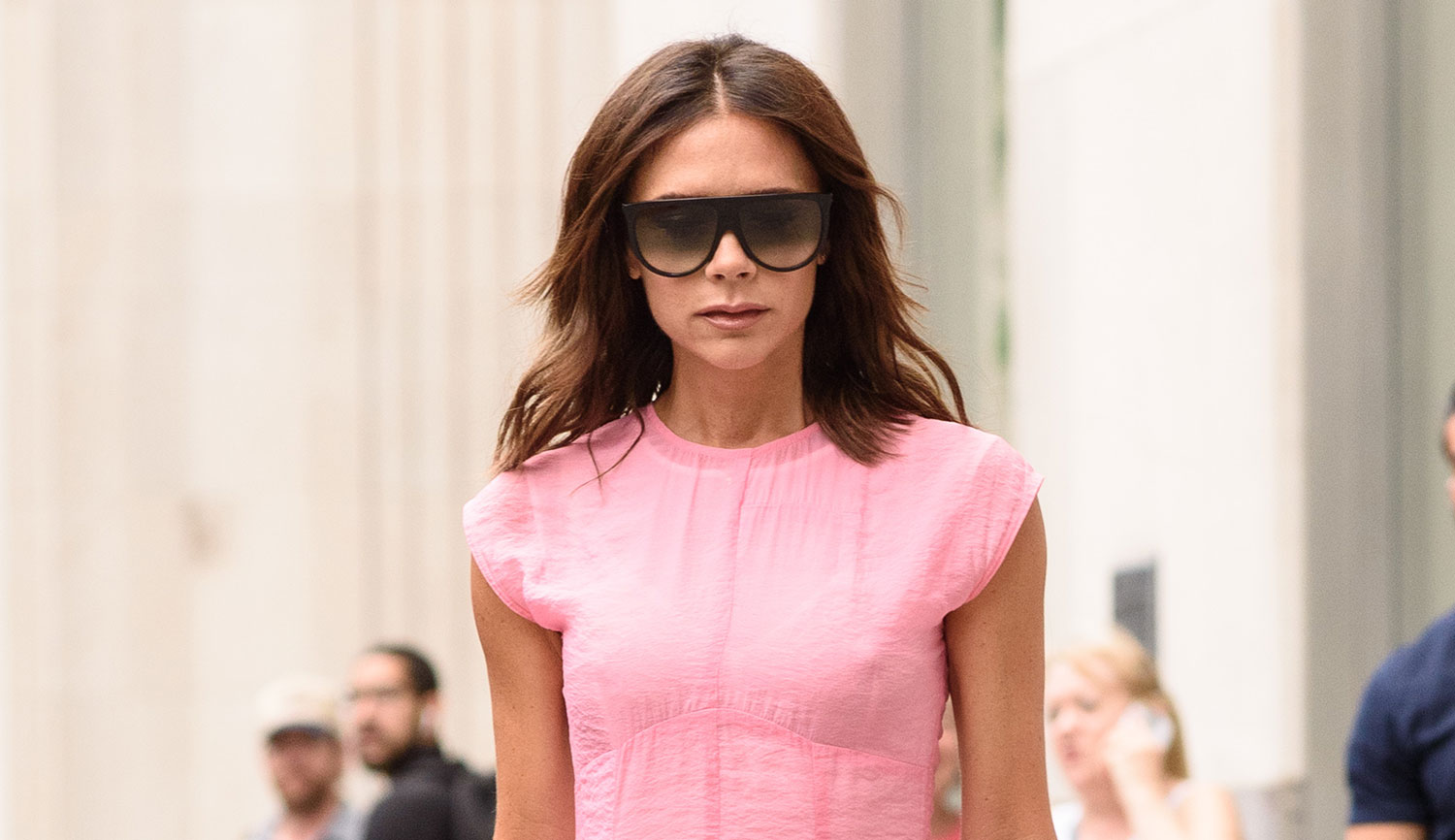 Victoria Beckham Is Making NYC Her Runway with Chic Fashion ...