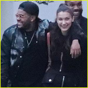 Bella Hadid & The Weeknd Look So Happy On a Date in Paris!