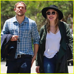 Charlie Hunnam & Longtime Love Morgana McNelis Look So Happy in New Photos!
