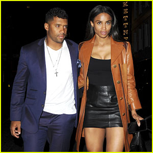 Ciara & Russell Wilson Have a Hot Date Night in London!