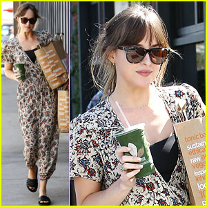 Dakota Johnson Looks So Stylish Running Errands on Sunday