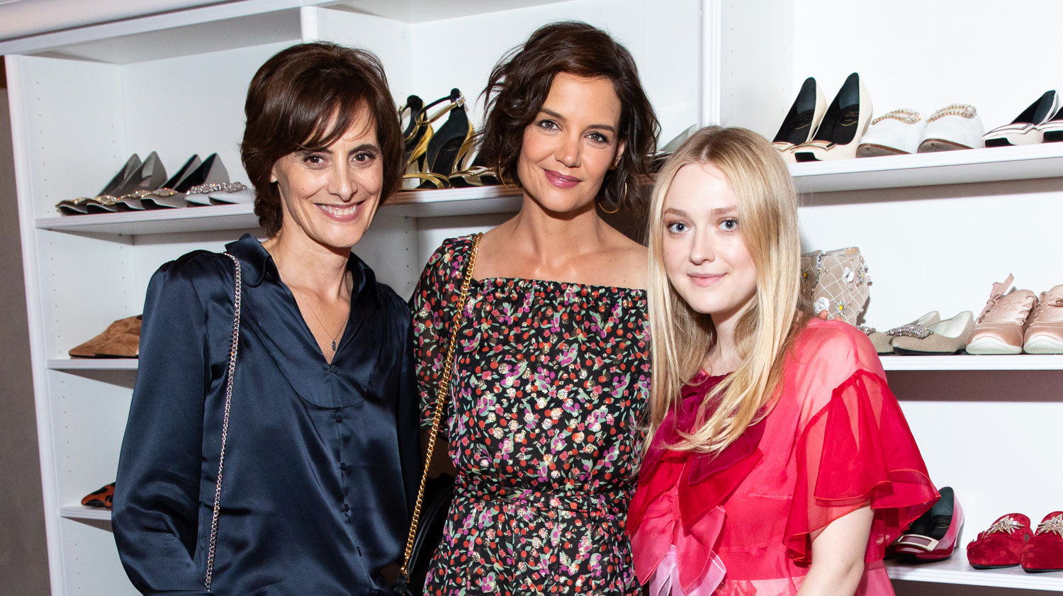 Dakota Fanning & Katie Holmes Celebrate Book Launch of #LoveVivier!