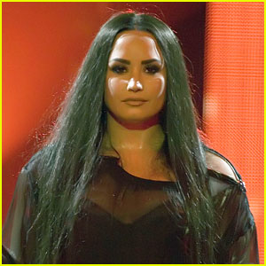 Demi Lovato Chokes Up During