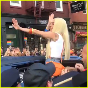 Lady Gaga Attends NYC Pride