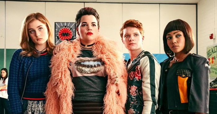 Heathers Tv Show Dropped By Paramount Network After Santa Fe School Shooting Heathers Television Just Jared