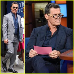 Josh Brolin Reads Trump Tweets as 'Avengers' Thanos on 'Stephen Colbert' - Watch Here!