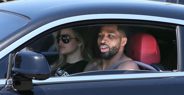 Khloe Kardashian & Tristan Thompson Enjoy a Cheat Meal at McDonald's