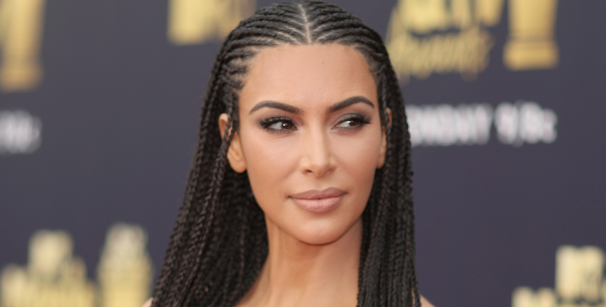Kim Kardashian Responds To Backlash Over Her Braided Hair North West S Straight