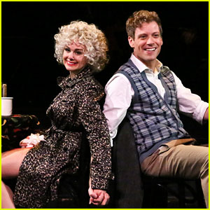 Laura Bell Bundy & Barrett Foa in 'Sweet Charity' - See Production Photos!