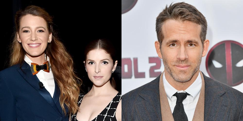 Blake Lively Trolls Ryan Reynolds Again & This Time, Anna Kendrick?s Involved!