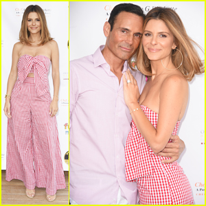 Maria Menounos Gets Support From Hubby Keven Undergaro at Social Life Mag Celebration!