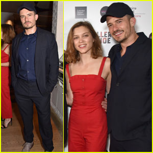 Orlando Bloom Joins 'Killer Joe' Cast for After Party in London!