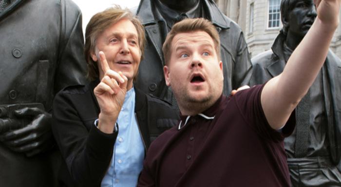 Paul McCartney Gives James Corden a Tour of Liverpool on ?Carpool Karaoke? ? Watch Now!