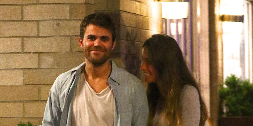 Paul Wesley Packs on the PDA With a Mystery Woman in NYC!