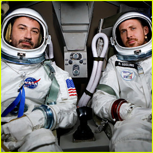 Ryan Gosling & Jimmy Kimmel Go to 'Space' for a Painfully Funny Interview!