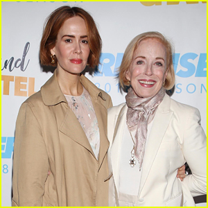 Sarah Paulson & Holland Taylor Step Out for Charity Event in L.A.