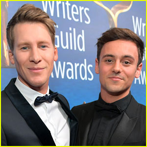 Tom Daley & Dustin Lance Black Welcome Their First Child!