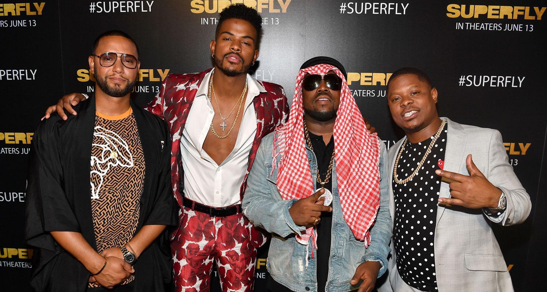 8837ce3d0e8 Trevor Jackson    Superfly  Cast Host Screening in Atlanta