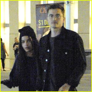 Zoe Kravitz & Boyfriend Karl Glusman Step Out for Date Night in L.A.