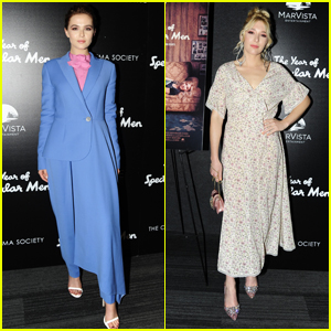 Zoey & Madelyn Deutch Attend Premiere of 'The Year of Spectacular Men' in NYC!
