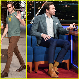 Armie Hammer Tells Stephen Colbert That Fans Keep Asking Him To Autograph Peaches