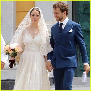Anna Wintour's Daughter Bee Shaffer & Francesco Carrozzini Get Married for a Second Time in Italy!