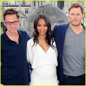 Chris Pratt & Zoe Saldana React to James Gunn's Firing from 'Guardians of the Galaxy'