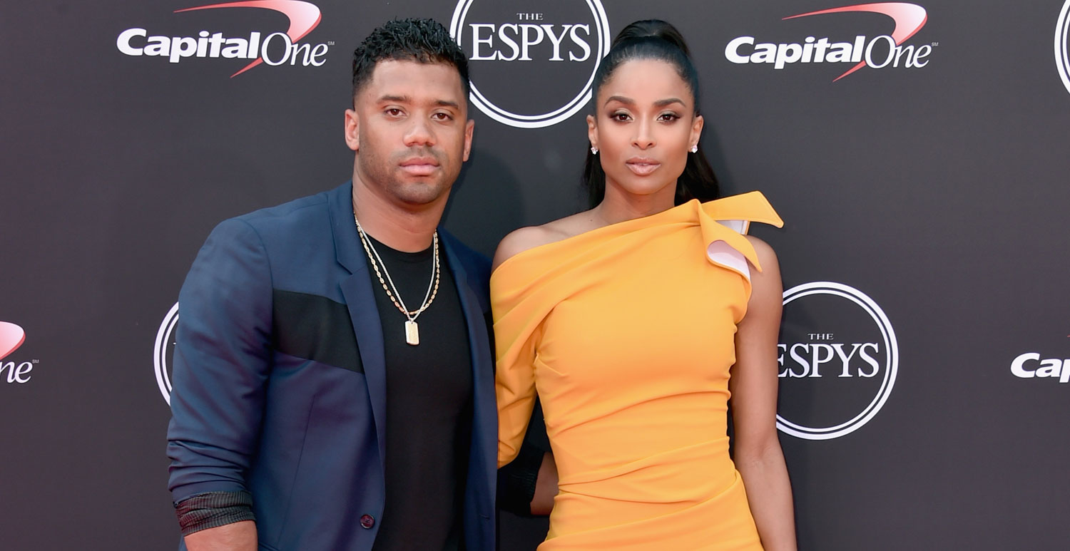 ciara amp russell wilson couple up at the espys 2018 2018