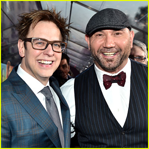 Dave Bautista Speaks Out with Support for James Gunn