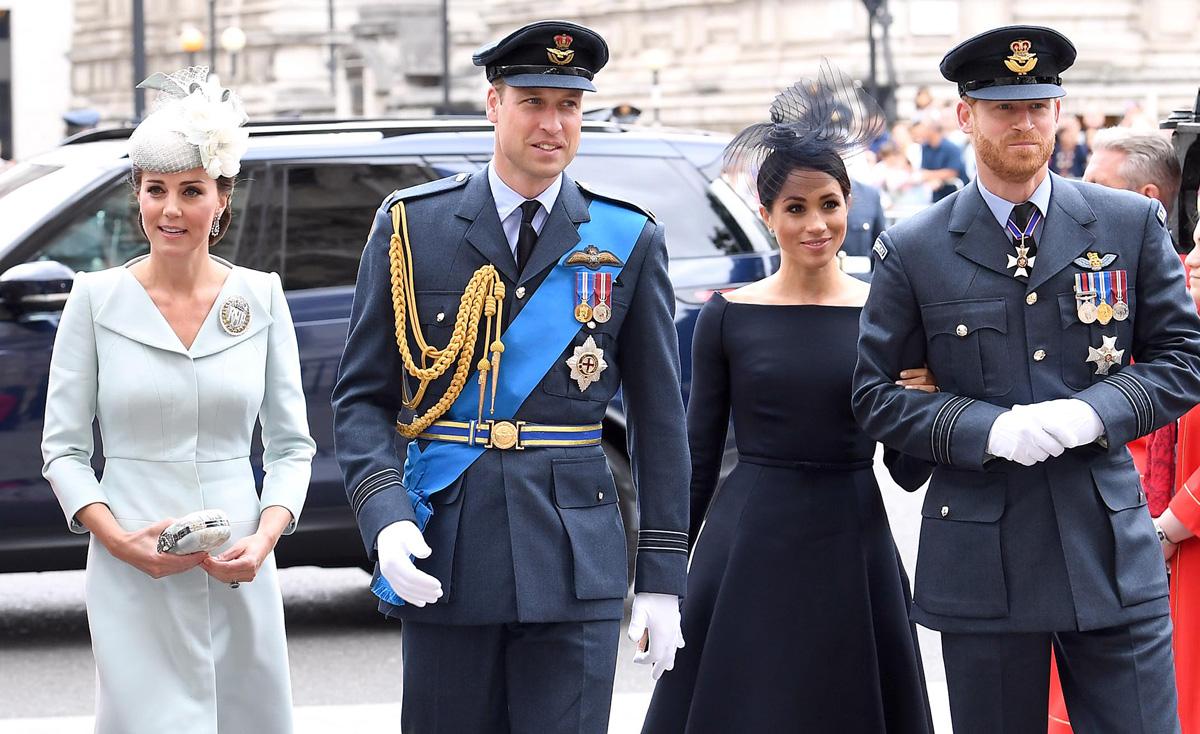 Kate Middleton Amp Meghan Markle Join Prince William