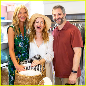 Gwyneth Paltrow & Leslie Mann Have Fun in the Hamptons!