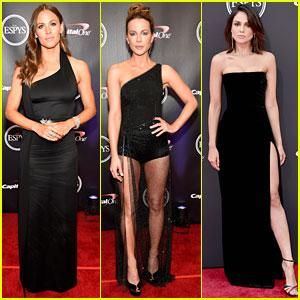 Jennifer Garner, Kate Beckinsale, & Eiza Gonzalez Slay in Black at ESPYs 2018