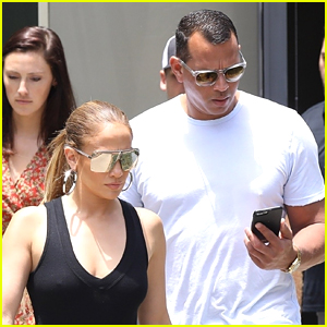 Jennifer Lopez & Alex Rodriguez Check Out Office Spaces in LA