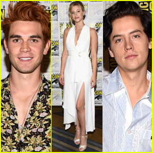 KJ Apa, Lili Reinhart, & Cole Sprouse Bring 'Riverdale' to Comic-Con!