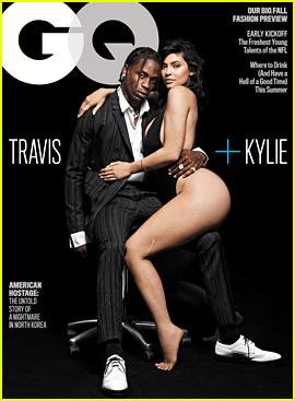 Kylie Jenner & Travis Scott Cover 'GQ,' Explain How Their Love Story Started