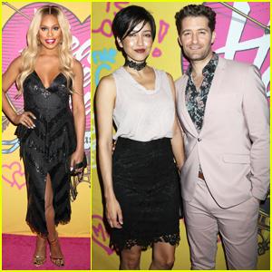 Laverne Cox, Matthew Morrison & Wife Renee Support 'Head Over Heels' Opening Night!