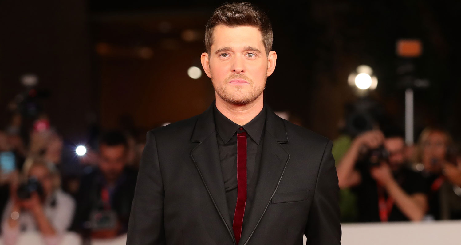 Michael buble thought he would never return to music during sons michael buble thought he would never return to music during sons cancer battle michael buble just jared m4hsunfo