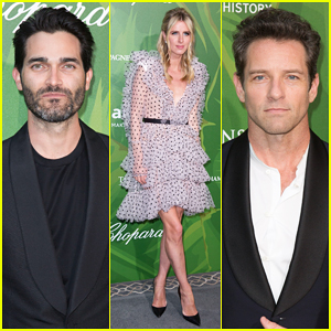 Nicky Hilton, Tyler Hoechlin & Ian Bohen Step Out for amfAR Paris Dinner 2018!