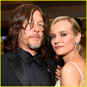Norman Reedus' Happy Birthday Message to Pregnant Partner Diane Kruger Is So Cute